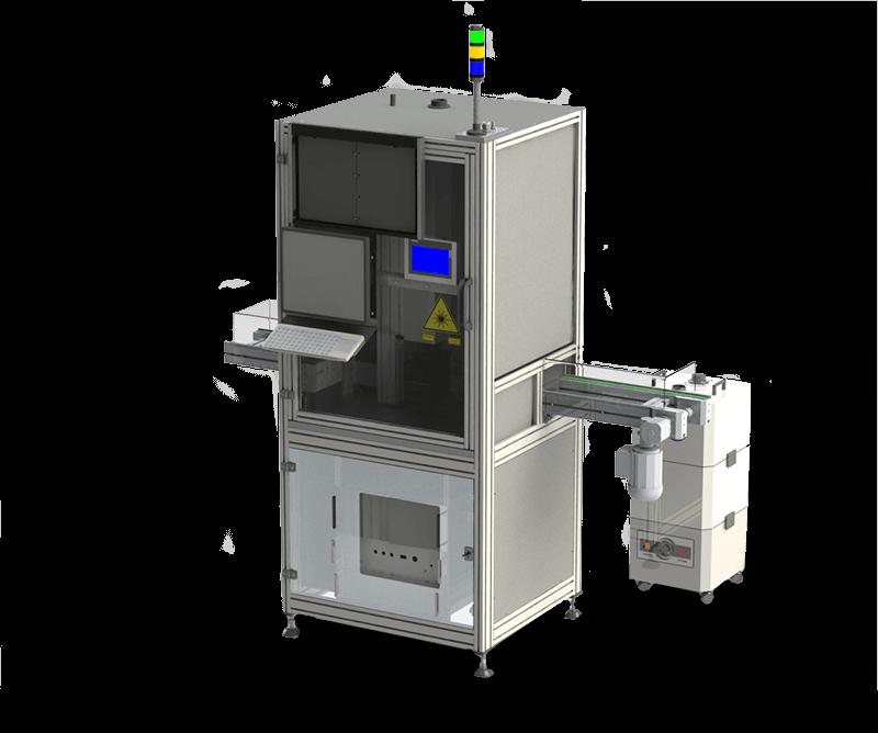 Anlage für Laserbeschriftung