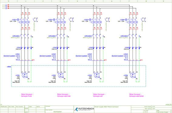 Elektrokonstruktion mit E-Plan