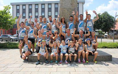 Sportlich auf dem Nördlinger Stadtlauf 2018