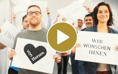 Digitale Weihnachtsgrüße von den Kutzschbach Teams