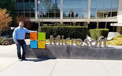 Claus inside Microsoft