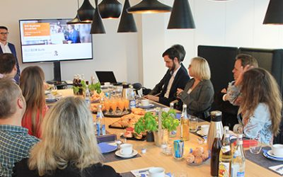 Full House beim Business Breakfast mit ELO Digital Office
