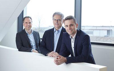 Wir blicken nach vorn – unser Geschäftsführer-Trio