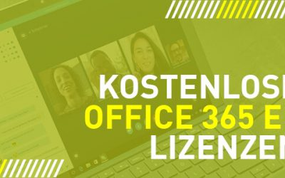 6 Monate kostenfrei Office 365 E1 wegen Covid 19