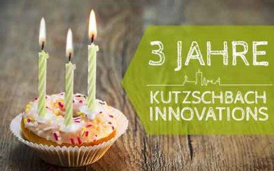 Ein Interview zum 3. Geburtstag der Kutzschbach INNOVATIONS