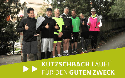 Kutzschbach läuft für den guten Zweck