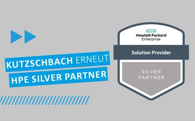 Kutzschbach erneut HPE Silver Partner