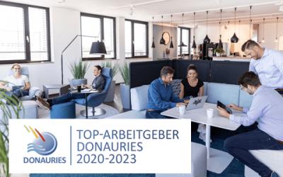 Kutzschbach erneut TOP-Arbeitgeber DONAURIES