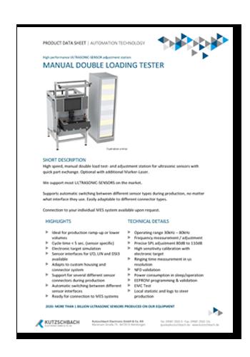 Manueller End-Of-Line Tester (EOLT)