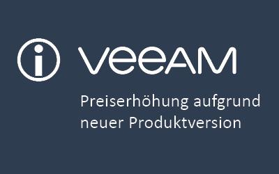 Neue Produktversion Veeam