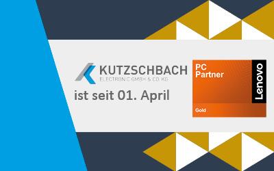 Kutzschbach ist jetzt Lenovo Gold Partner