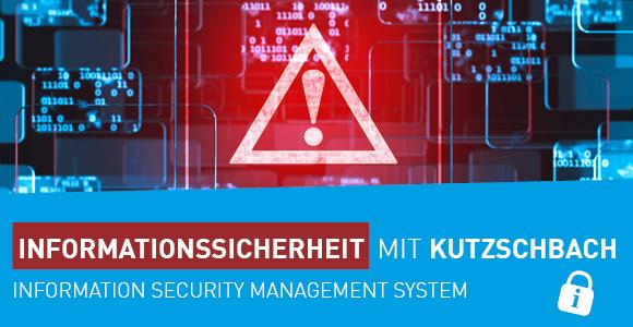 Beitragsbild Informationssicherheit mit Kutzschbach ISMS