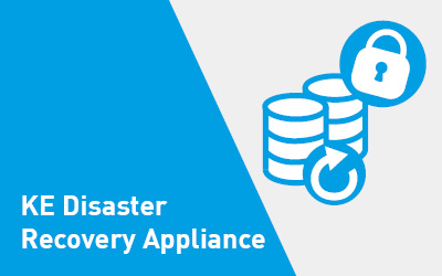 Sicheres Backup – KE Disaster Recovery Appliance