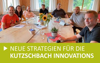 Neue Strategien für die Kutzschbach INNOVATIONS